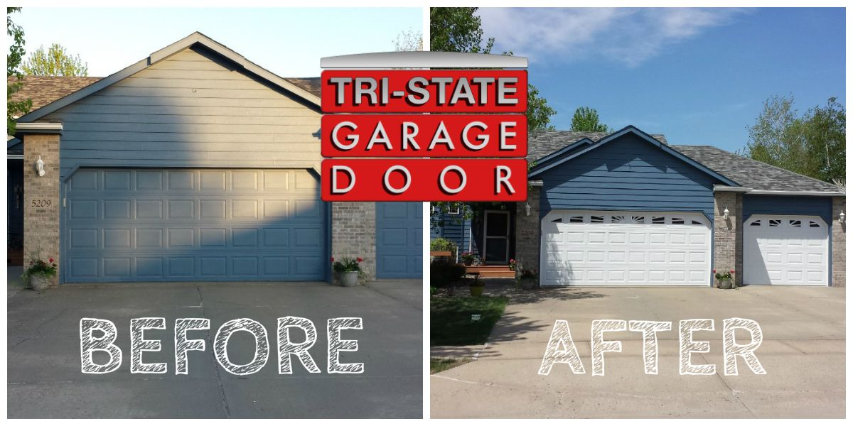 residential garage door options sioux falls